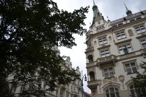 swooning over the architecture on Pařížská