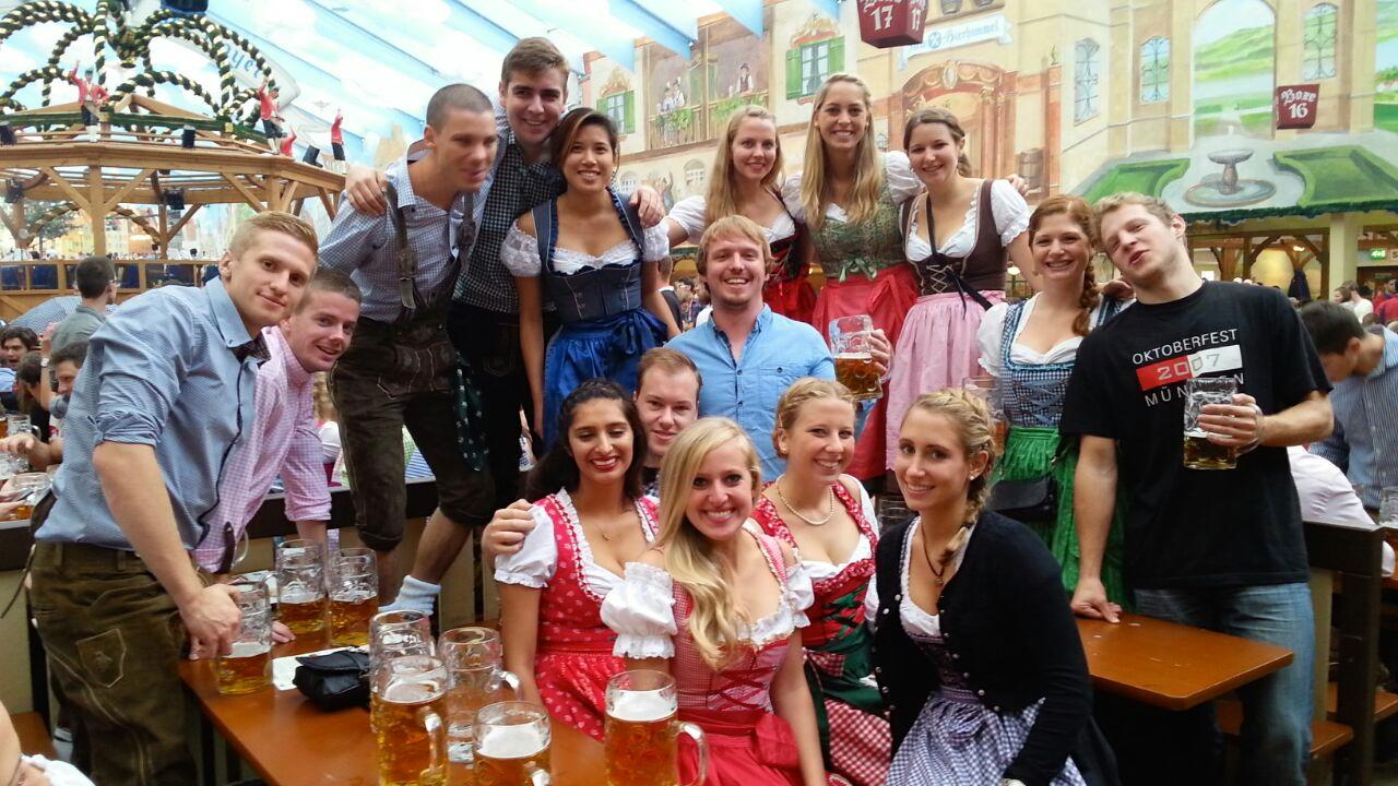 IEEC 2013-2014 reunion in Oktoberfest!