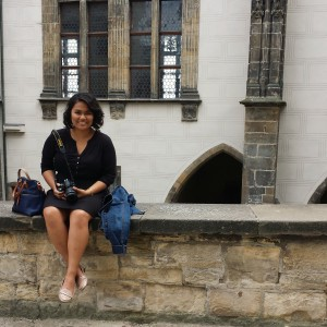 playing tourist in Prague Castle