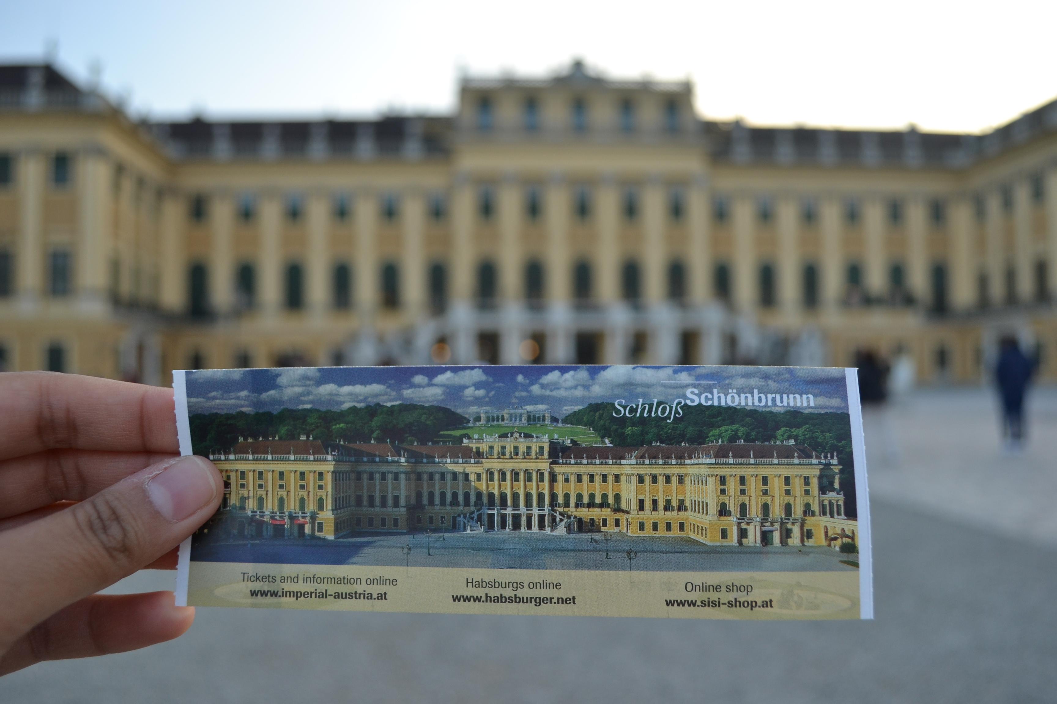 Schönbrunn Palace tour