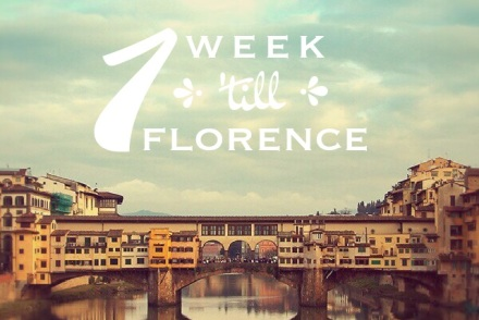 1 Week to Florence Picture