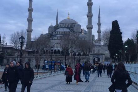 Back in Sultan Ahmet