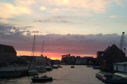 Sunset in CPH Denmark